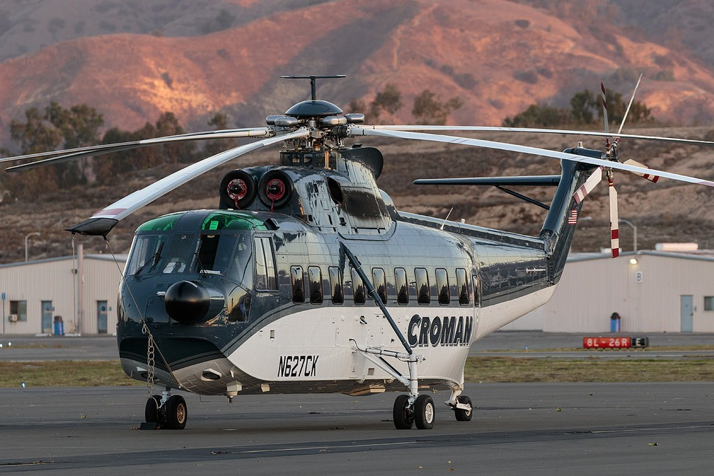 Upgraded Sikorsky S-61T Helicopters for sale