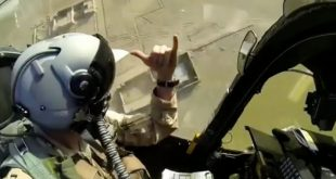 A-10 saving the day again: Warthog Close Air Support Footage Will Give You Chills