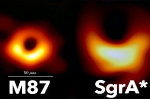 Astronomers capture first-ever image of a black hole