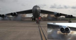 B-52 bomber Cart Start: USAF use Explosive charges to Jump-start B-52 engines