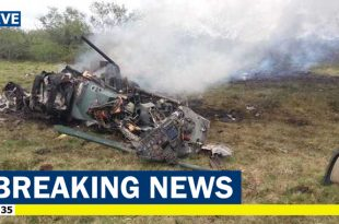 Brazilian Air Force AMX A-1B fighter jet crashed at Viamão during military exercise