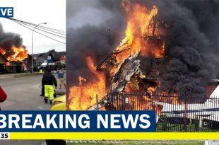 Britten-Norman BN-2 Islander plane crashed into residential area, 6 Dead