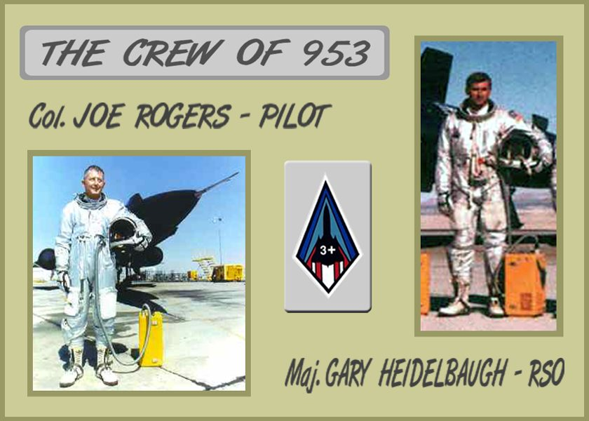 Col. Joe Rogers and Maj. Gary Heidelbaugh.