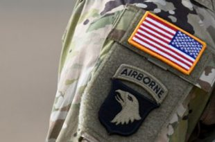 Do you know Why the American flag is reversed on military uniforms?