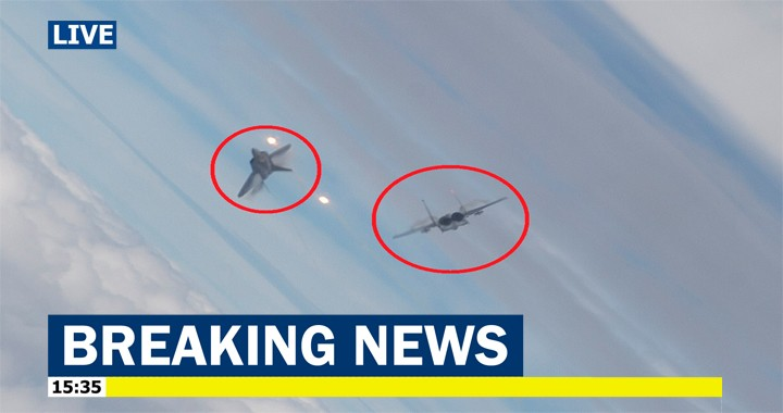 Forced Negative-G Spin caused F-15C crashed during dogfight with F-22 Raptor: Investigation report