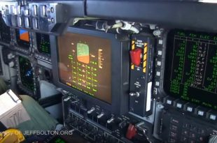 For the first time in the 30-year, Video Filmed Inside A B-2's Cockpit While In Flight Released