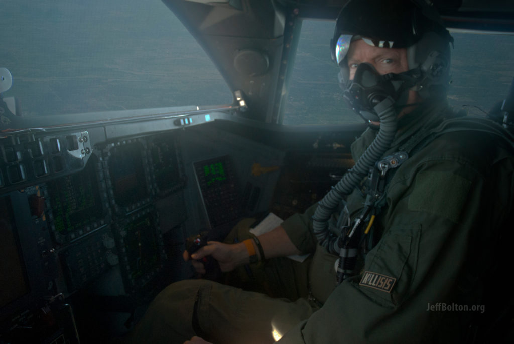 First Ever Video Filmed Inside A B-2's Cockpit While In Flight a