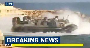 Footage of U.S. Navy Hovercraft Evacuating Americans From Libya emerges on social media