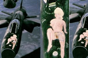 How Pussy Galore marking painted on F-105D helped tanker crew in Aerial refueling
