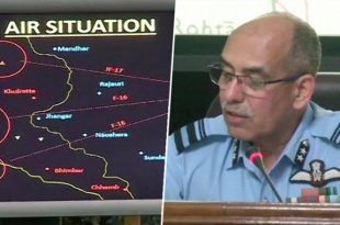 "IAF Evidence of shooting down PAF F-16 fighter jet Is Far From ""Irrefutable"""