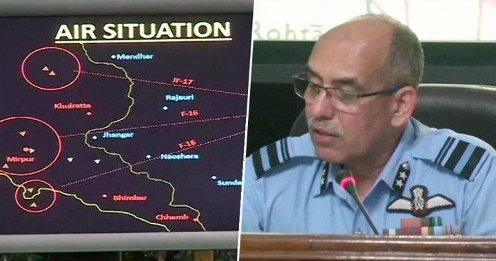 """IAF Evidence of shooting down PAF F-16 fighter jet Is Far From """"Irrefutable"""""""