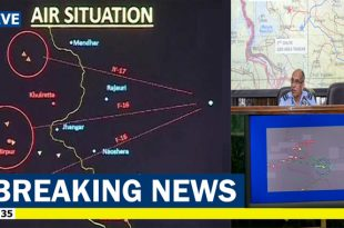 IAF says it has 'irrefutable proof' of shooting down PAF F-16, Shows Alleged Radar Image