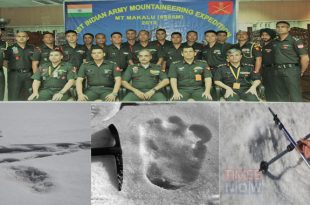 Indian Army claims to have spotted footprints of mythical beast Yeti