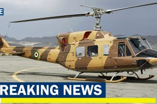 Iran Border patrol Bell 214A/C helicopter crashes in Urmia, 1 dead & 3 injured