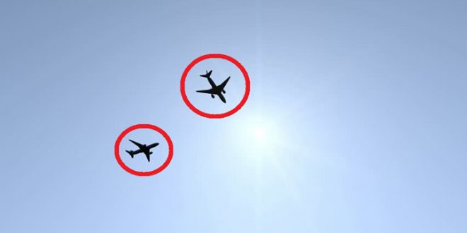 Listen Pilot calling Air traffic controller useless after Terrifying near-miss between two planes