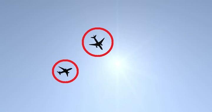 Listen Pilot calling Air traffic controller useless after Terrifying near-miss between two planes