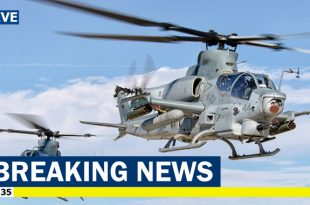 Marine Corp Bell AH-1Z Viper Helicopter Crashed in Arizona, 2 pilots died