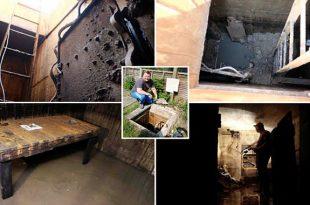 Men Found hidden WWII bunker under the back garden of his new house