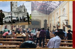 Multiple Blasts Hit Churches & hotels in Sri Lanka on Easter Sunda, 160 Dead & 500 Injured