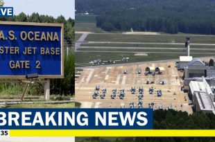 Naval Air Station Oceana went on lockdown after a shooter incident, 1 dead & 1 Injured