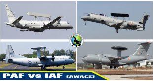 PAF vs IAF AWACS Comparison: PAF AWACS fleet now Twice the Size of IAF AWACS fleet