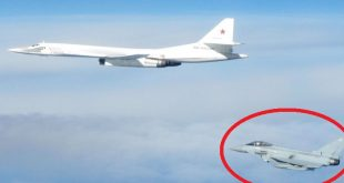 RAF Fighter jets scrambled to stop Russian bombers entering UK airspace