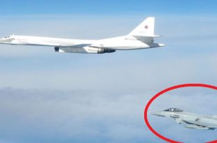 Six RAF Fighter Jets Scrambled To Intercept Russian Aircraft Heading For UK Airspace