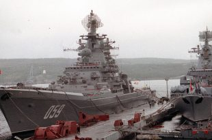 Russia Dismantling two Kirov-class nuclear-powered battle-cruisers to save money