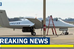 Scaled Composites Stealthy Mystery Jet Spotted At The Navy's Top Flight Test Base