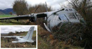Spanish Air Force CASA C-295M runway excursion,10 Injured