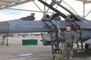 The Pilot who Scored First U.S. F-16 kill by shooting down Mig-25 with AIM-120 AMRAAM