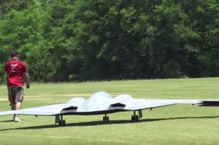 The largest Model Of RC B-2 Spirit Stealth Bomber in the world