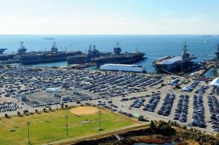 Top 10 biggest and busiest Naval Base in the United States of America