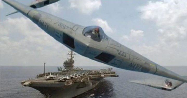 A-12 Avenger II: U.S Navy cold war stealth bomber that can operate from Aircraft Carriers