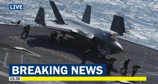 United States Navy Risking Lives by pushing the F-35C into combat: Watchdog report