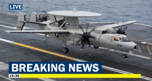 U.S. Navy awards $3 billion contract to Build 24 E-2D Hawkeye early warning aircraft