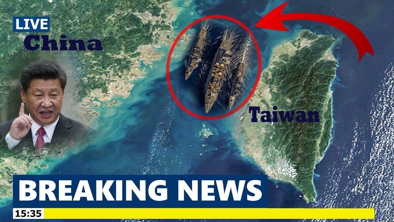 U.S. Navy ships pass through strategic Taiwan Strait for third time in three months