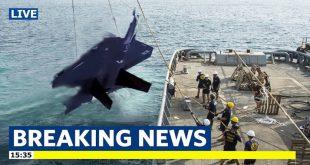Pilot presumed dead as Japan ends search for Crashed F-35A Stealth Fighter Jet