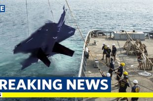 Pilot presumed dead as Japan ends search for Crashed F-35A Stealth Fighter Jet