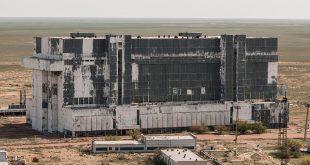 Urban Explorer finds Remains Of Abandoned RUSSIAN SPACE HANGAR in Kazakhstan