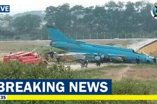 Vietnam Air Force Sukhoi Su-22M4 crashed into a wall while landing at Yen Bai Air Base -