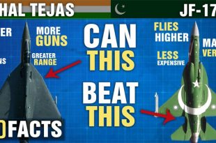 The Differences Between IAF HAL TEJAS and PAF JF-17 Thunder