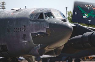 "A Sixty year old B-52H Bomber Nicknamed ""Wise Guy"" resurrected from the Bone Yard"