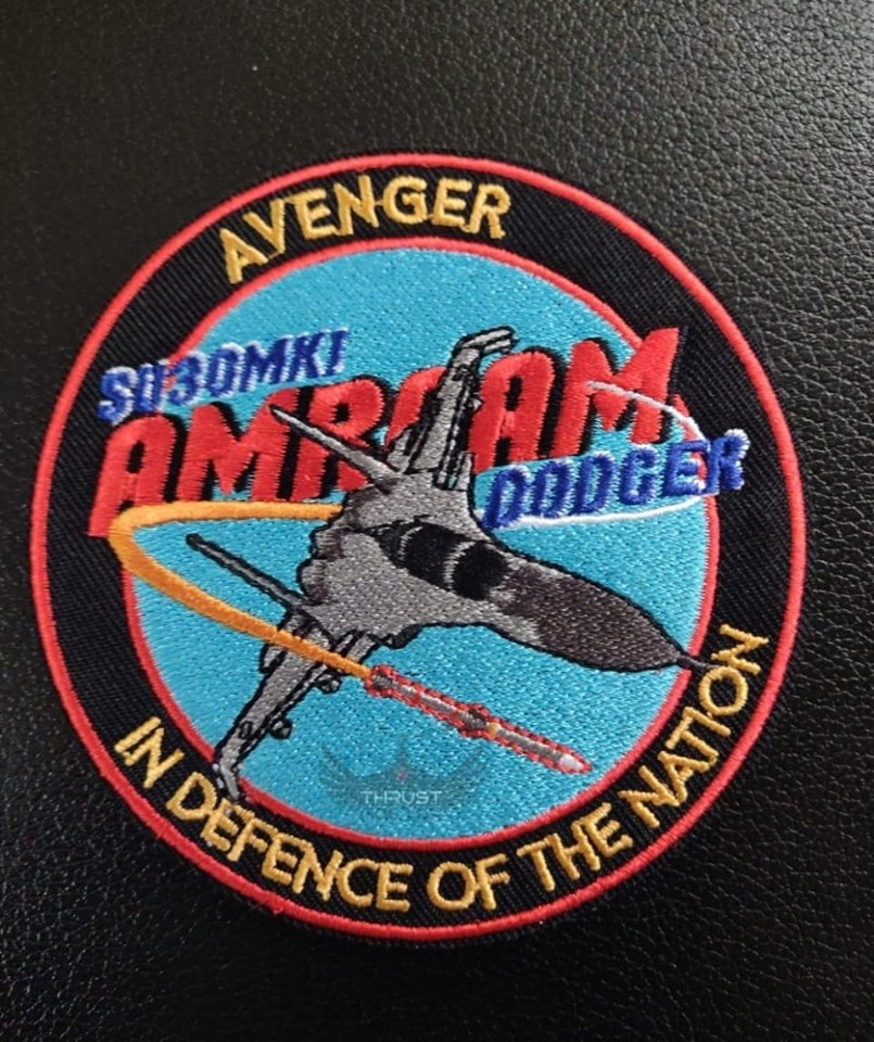The Amraam Dodgers patch