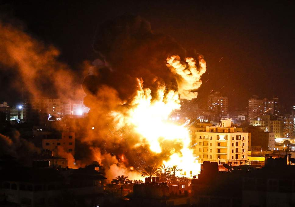 At least 29 Killed In Israel-Gaza Airstrike and Rockets attacks