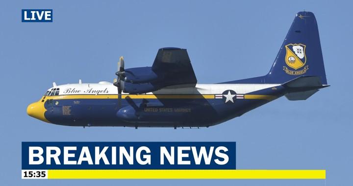 U.S. Navy Blue Angels is getting a new 'Fat Albert' C-130J Super Hercules