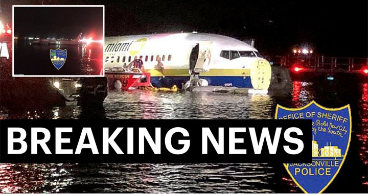 Boeing 737 with 143 people aboard crashes Into Florida river