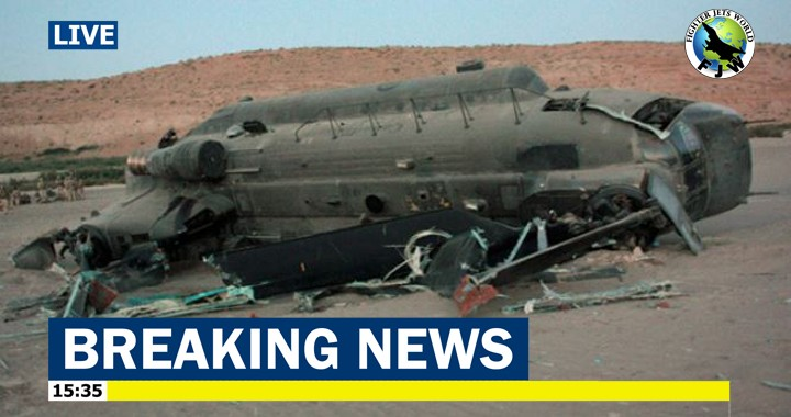 U.S. Army Boeing CH-47 Chinook helicopter crashed in Afghanistan