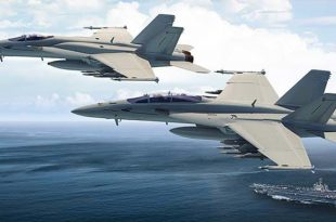 Boeing unveils new version of F/A-18 Super Hornet Fighter jet