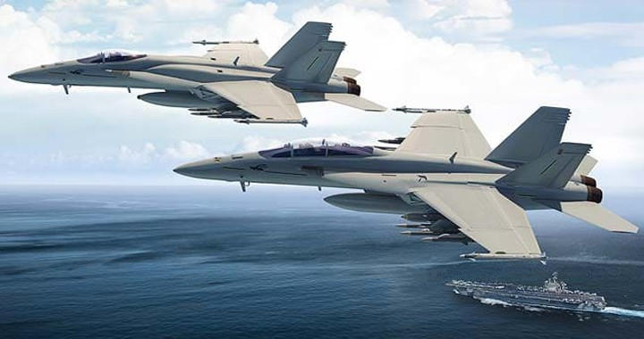 Boeing unveils new version of F/A-18 Super Hornet Fighter jet